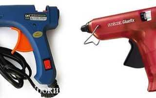 Как выбрать клеевой пистолет для рукоделия